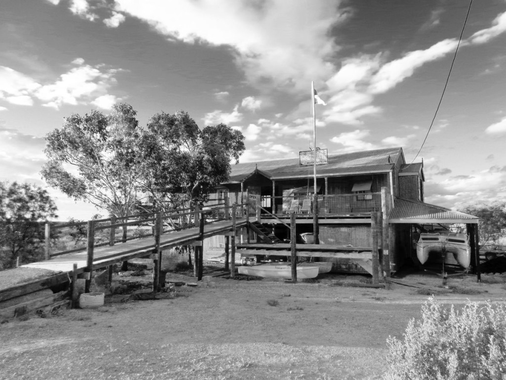 Clubhaus des Lake Eyre Yacht Clubs in Australien (Foto: Lake Eyre Yacht Club)