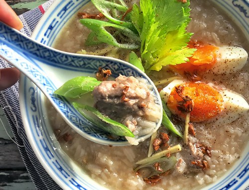 "Thai-Reissuppe ""Jok"" oder ""Chao"" aus Vietnam: Same, same but different!"